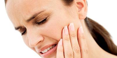 tandbehandling af isninger i tænderne